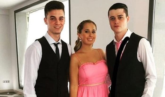 cc496fd585c La foto de Andrea Janeiro en la boda de su madre, Belén Esteban, que ...