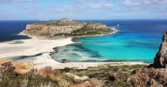 Playa de Balos Lagoon, en Creta