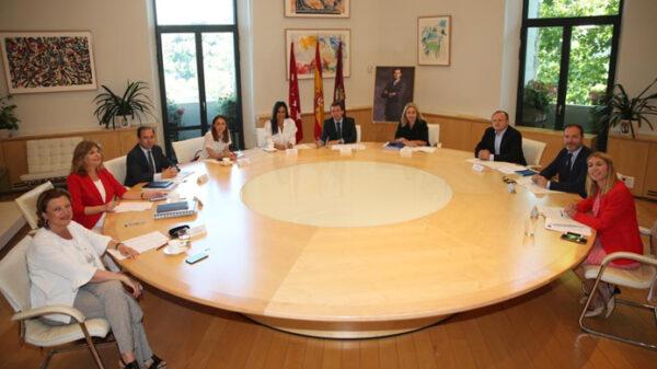 El equipo de Gobierno de Madrid