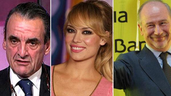 Mario Conde, Patricia Conde y Rodrigo Rato
