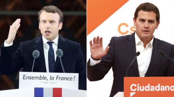 Macron y Rivera