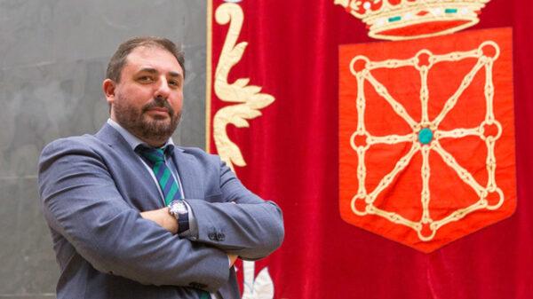 Unai Hualde, presidente de la Mesa del Parlamento de Navarra