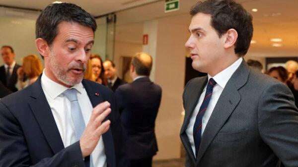 Manuel Valls y Albert Rivera