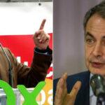 Santiago Abascal y Rodríguez Zapatero