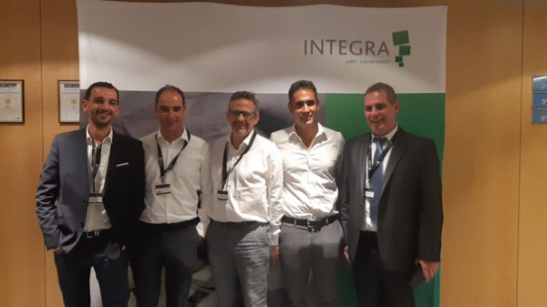 Los doctores Rubio (2º por la izquierda) y Del Cabo (2º por la derecha), con otros ponentes de las jornadas