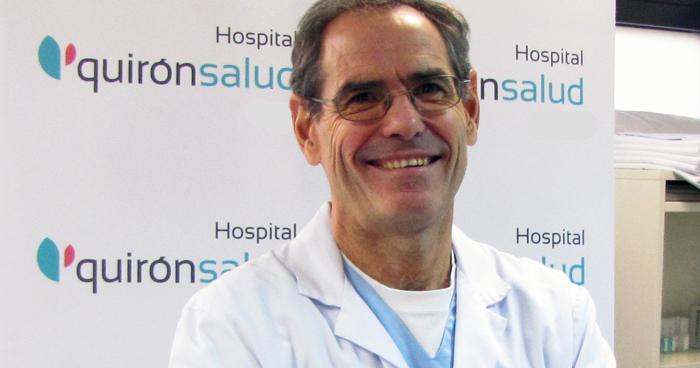 El doctor Fernando Serrano