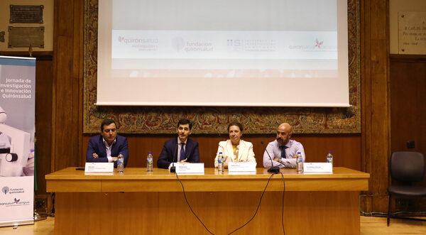 Inauguración de la I Jornada de Investigación e Innovación de Quirónsalud