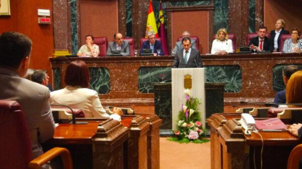 El líder de Vox en Murcia, Juan José Liarte