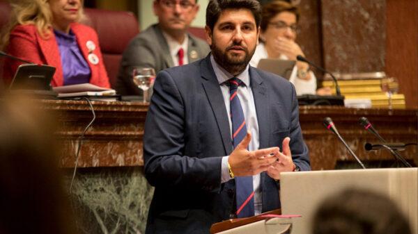 Fernando López Miras, candidato del PP en Murcia