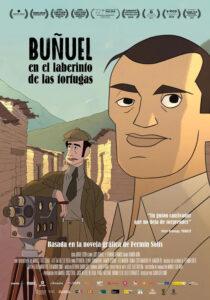 Cartel de la cinta 'Buñuel en el laberinto de las tortugas'