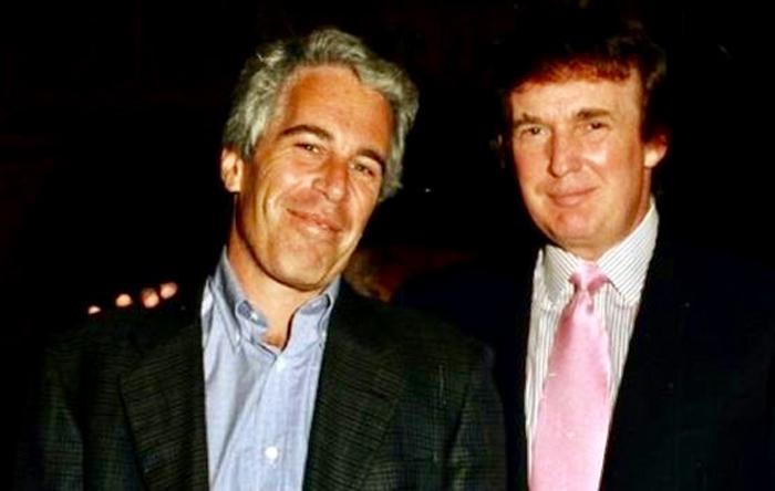 Jeffrey Epstein y Donald Trump