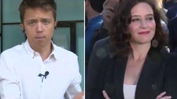 Íñigo Errejón y Díaz Ayuso