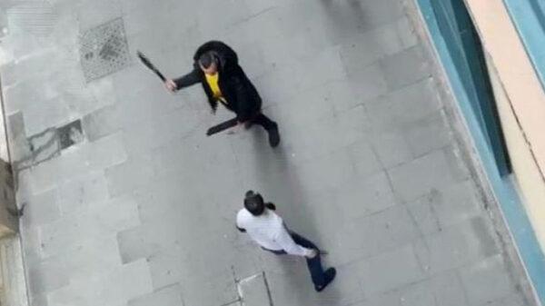 Una pelea en Barcelona
