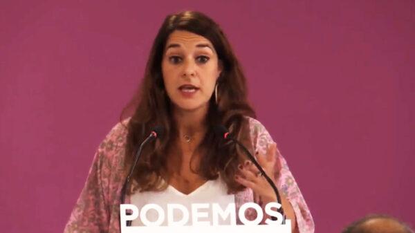 Noelia Vera, portavoz y diputada de Podemos