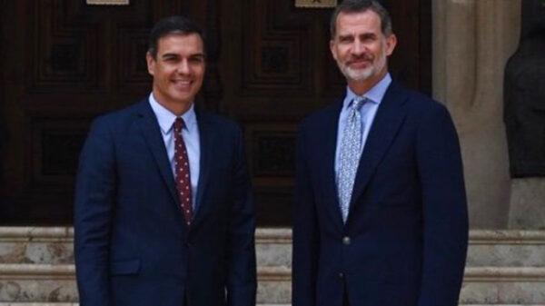 El Rey y Pedro Sánchez en Mallorca