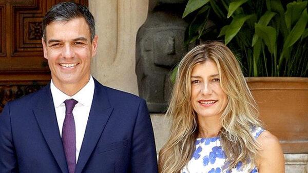 Pedro Sánchez y su mujer, Begoña Gómez