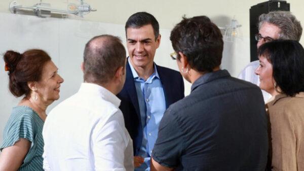 Sánchez tras una reunión con una organización social