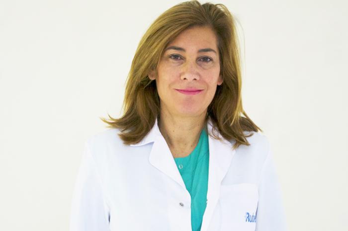 La doctora María Teresa Martín Pedraza