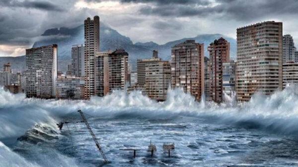 Imagen de Greenpeace sobre cómo quedaría Benidorm