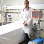 El doctor Carretero y el sistema ECMO