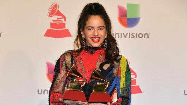 Rosalía en los Grammy Latino 2018
