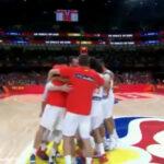 La selección celebra su pase a la final del Mundial