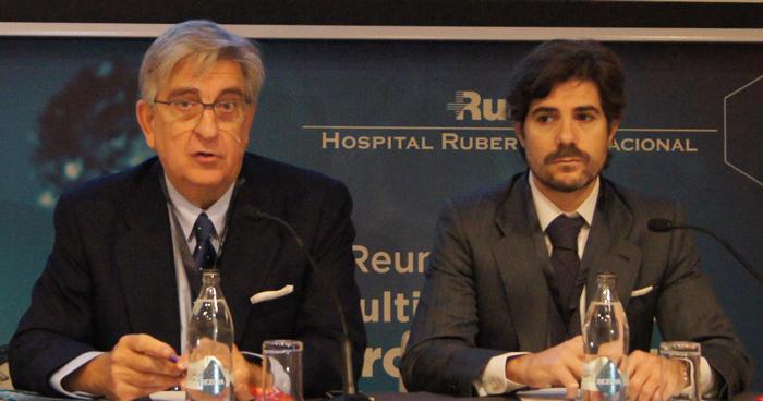Antonio Allona y Alberto Pérez-Lanzac, directores de la I Reunión Multidisciplinar de Uro-Oncología