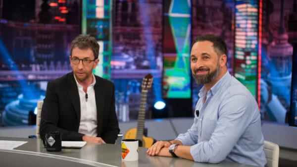 Santiago Abascal en 'El Hormiguero'