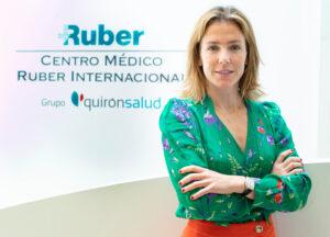 Ana Vega-Penichet, directora de Ruber Internacional Paseo de la Habana