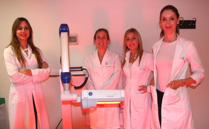 El equipo de Dermatología del Hospital Quirónsalud San José