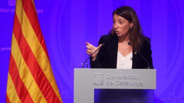 Meritxell Budó, portavoz del Gobierno catalán