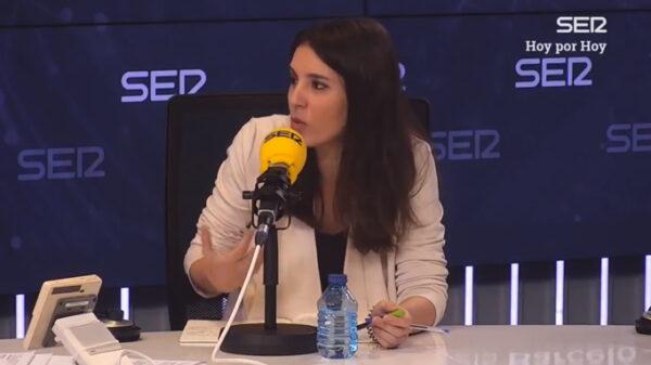Irene Montero en Cadena Ser