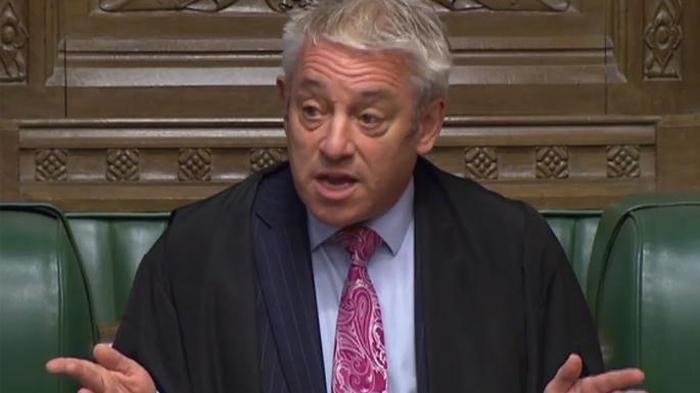John Bercow, 'speaker' del Parlamento británico