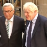 Jean-Claude Juncker y Boris Johnson