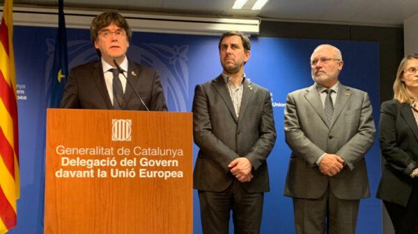 Carles Puigdemont desde Bélgica