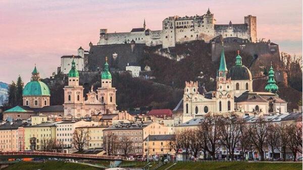 La ciudad de Salzburgo (Austria)
