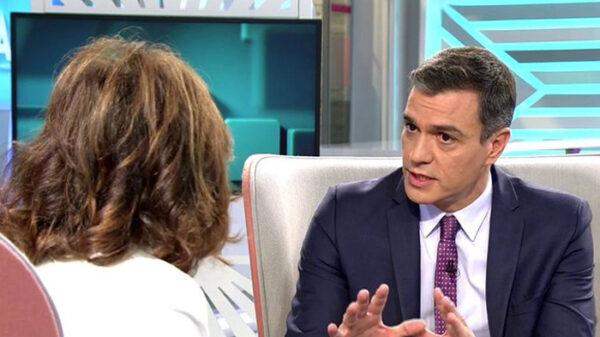 Pedro Sánchez en 'El Programa de AR' (Telecinco)
