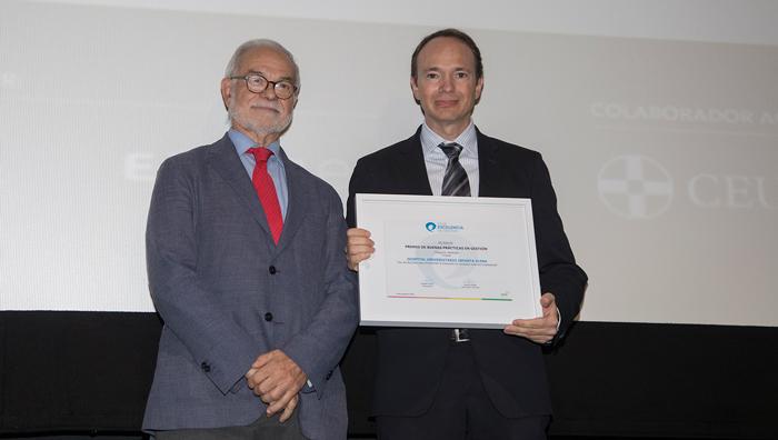 El proyecto Uso del Big Data en Consultas Externas recibió un premio a la Mejor Buena Práctica en Gestión