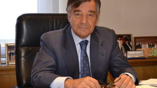 El presidente del COFM, Luis González Díez