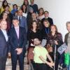 Organizadores y ponentes de la jornada en un receso de la misma