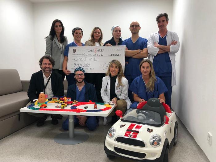 Responsables del proyecto de Hospital de Villalba ganador de este año