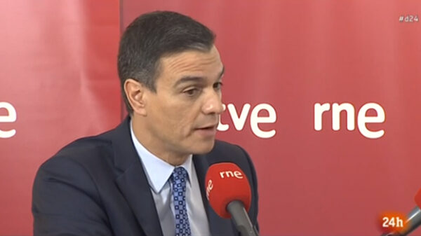 Pedro Sánchez en RNE