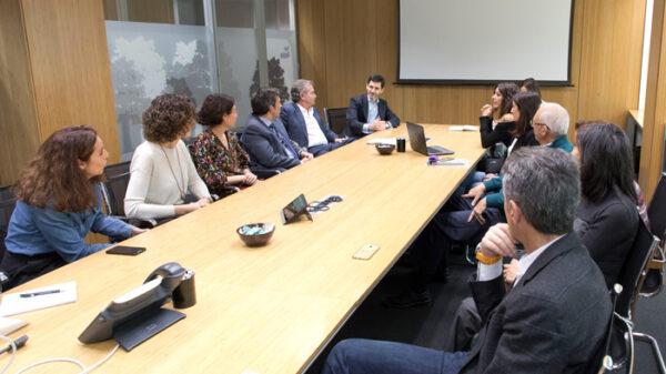 Héctor Ciria en la presentación de los proyectos premiados de la Fundación Quirónsalud