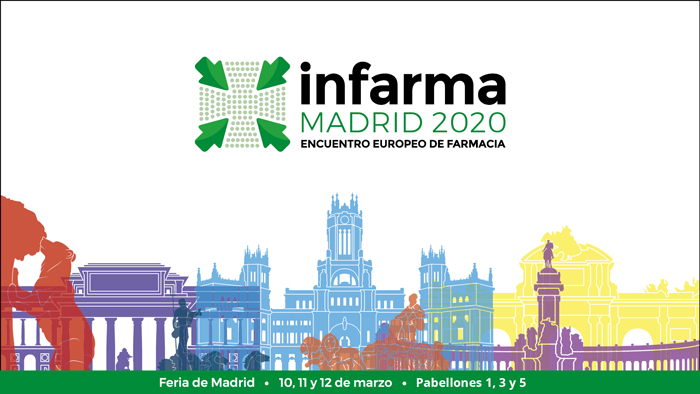 Cartel de Infarma Madrid 2020
