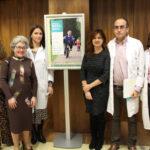 De izquierda a derecha, los doctores Gutiérrez de Terán, Bermejo, Gavela, Amador, Soriano y Leal, en la presentación de InfaSen