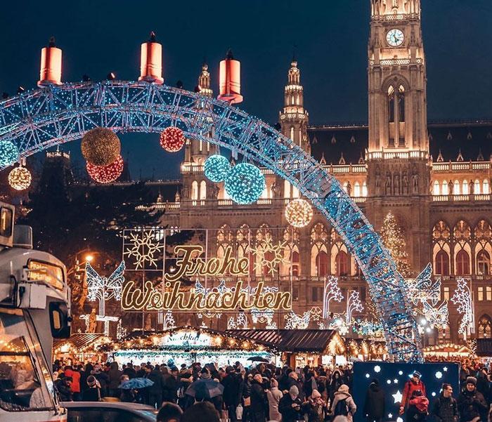 El mercadillo navideño de Viena