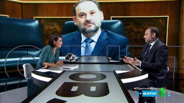 José Luis Ábalos en 'El Objetivo' de La Sexta