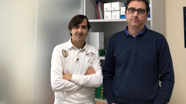 Martín Ventura (izquierda) lidera del grupo de investigadores del CIBERCV en el IIS-FJD
