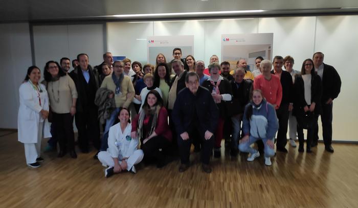 La emotiva jornada permitió valorar la aportación en la mejora de la salud de los pacientes gracias al trabajo profesional y humano