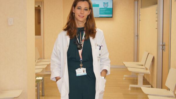 Esther Holgado, jefa de Servicio de Oncología Médica del Hospital La Luz